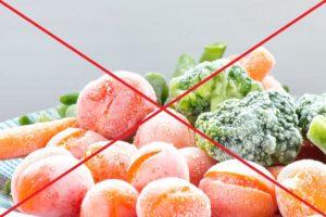 Ochlazení králíka zmraženou zeleninou