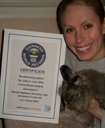 Guinness World Record Rabbit DO v USA