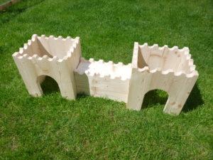 Dřevěný hrad pro zvířátka - promazliky.eu