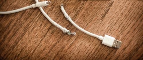 Překousnutý kabel - Ňufíček